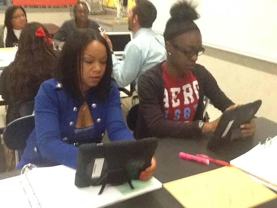 AESD teachers using technology