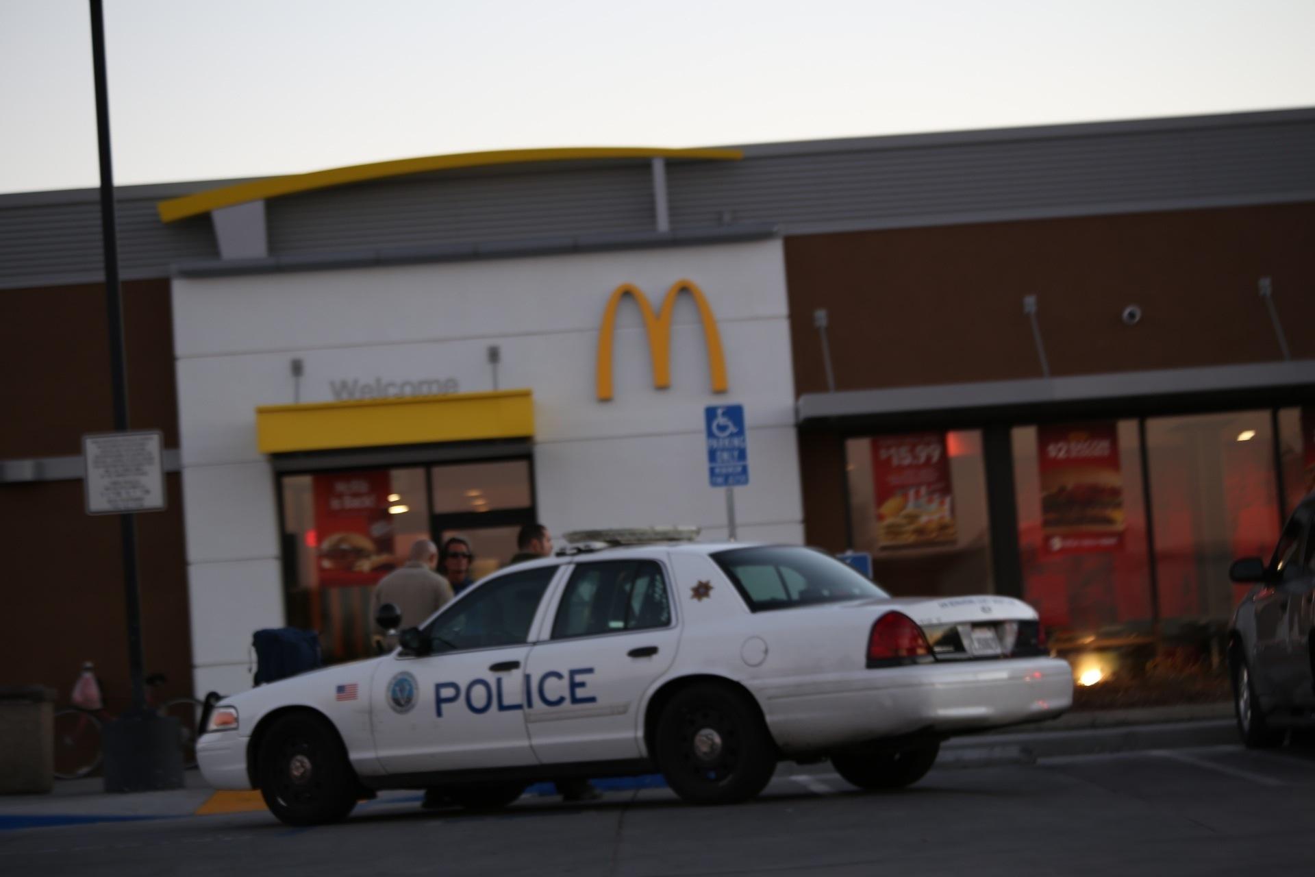 Photo of McDonalds Employee Stabbed
