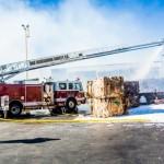 Fontana Recycling plant Fire