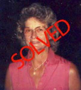 Rita Cobbs Cold Case Solved