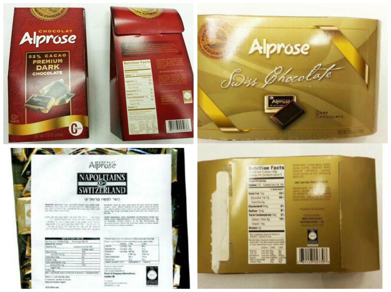 Recall on Dark Chocolate