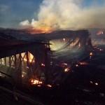 Ranchero Over Pass Fire