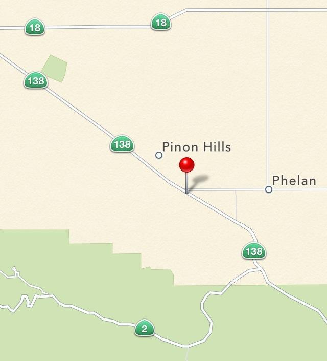 Pinon Hills Traffic Accident