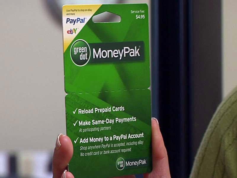 GreenDot/MoneyPak