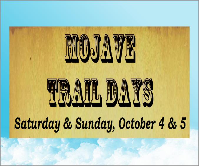 Mojave Trail Days