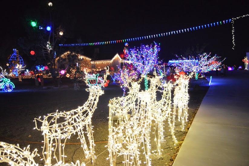 Phelan Mistletoe Light Show Returning