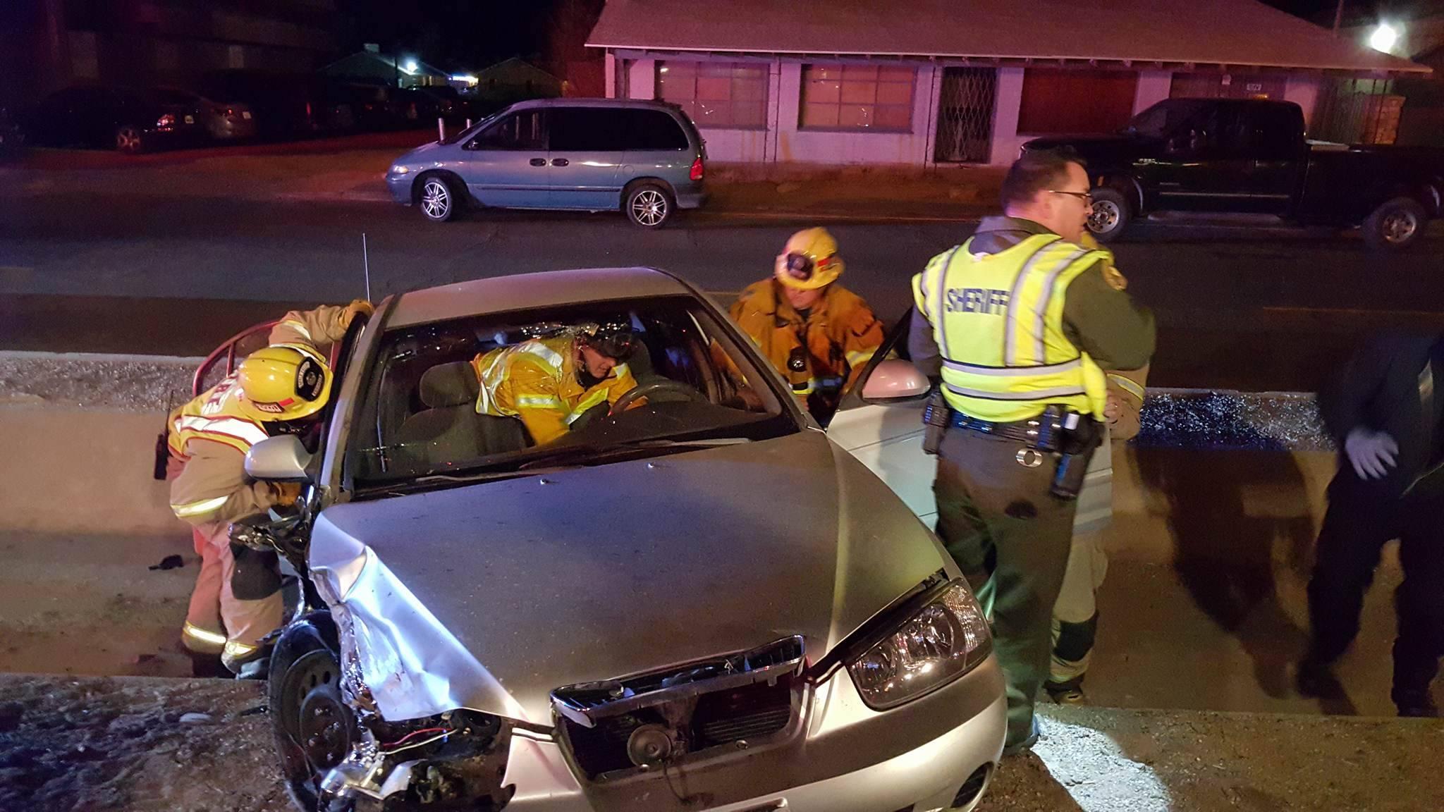 Apple Valley Highway 18 head on traffic collision.