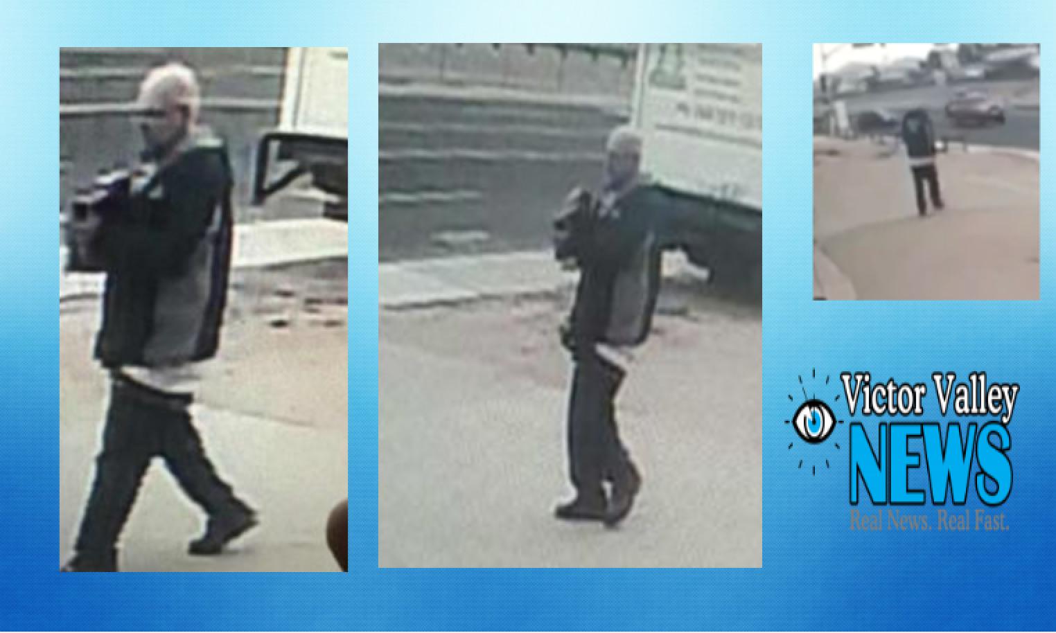Victorville deputies are seeking the public's help to identify burglary suspect.