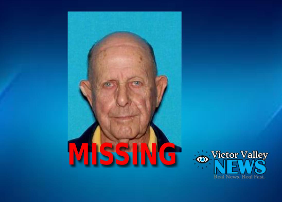San Bernardino County Sheriff's Department needs help locating a missing Victorville man