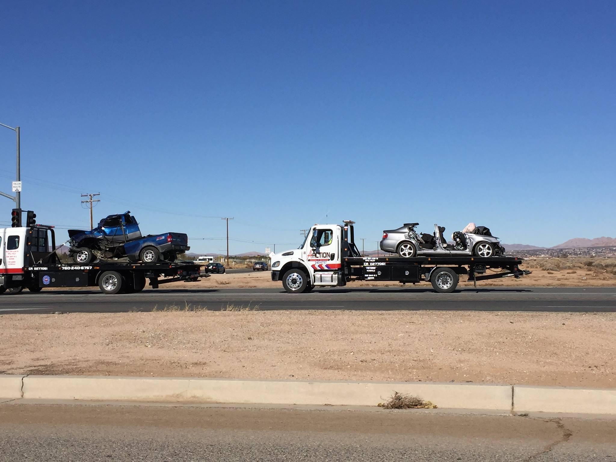 Fatal traffic collision on SR-18.