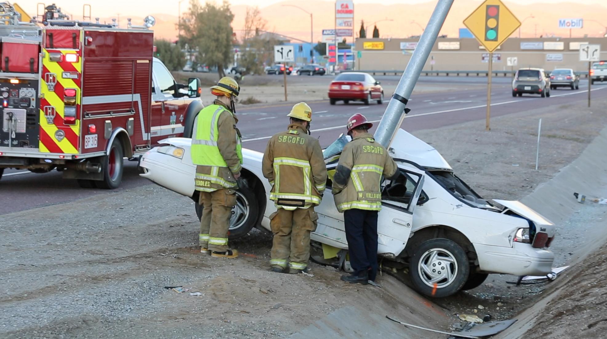 Driver Killed in 15 Freeway Crash Identified
