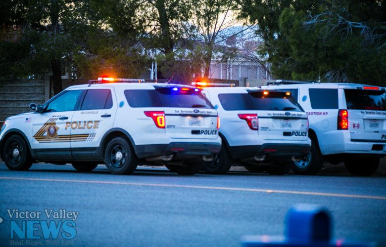 Victorville Police Department : VVNG.com File Photo (Photo by Hugo C. Valdez, Victor Valley News)