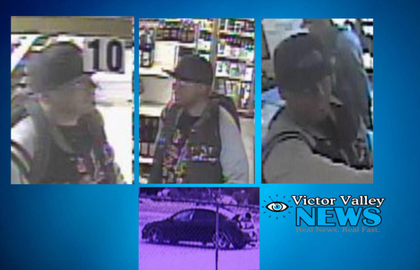 Hesperia Liquor Store Robber Still at Large