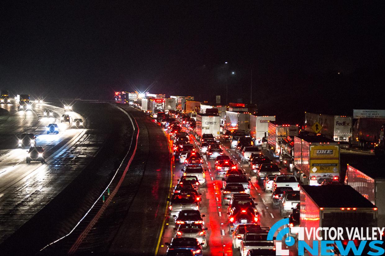 15 Freeway SB File Photo (Gabriel Espinoza, Victor Valley News)