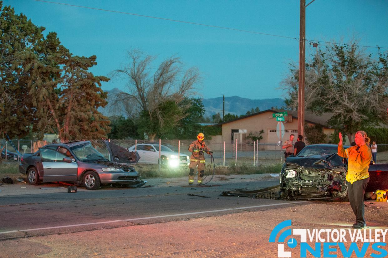 Hesperia News Car Crash