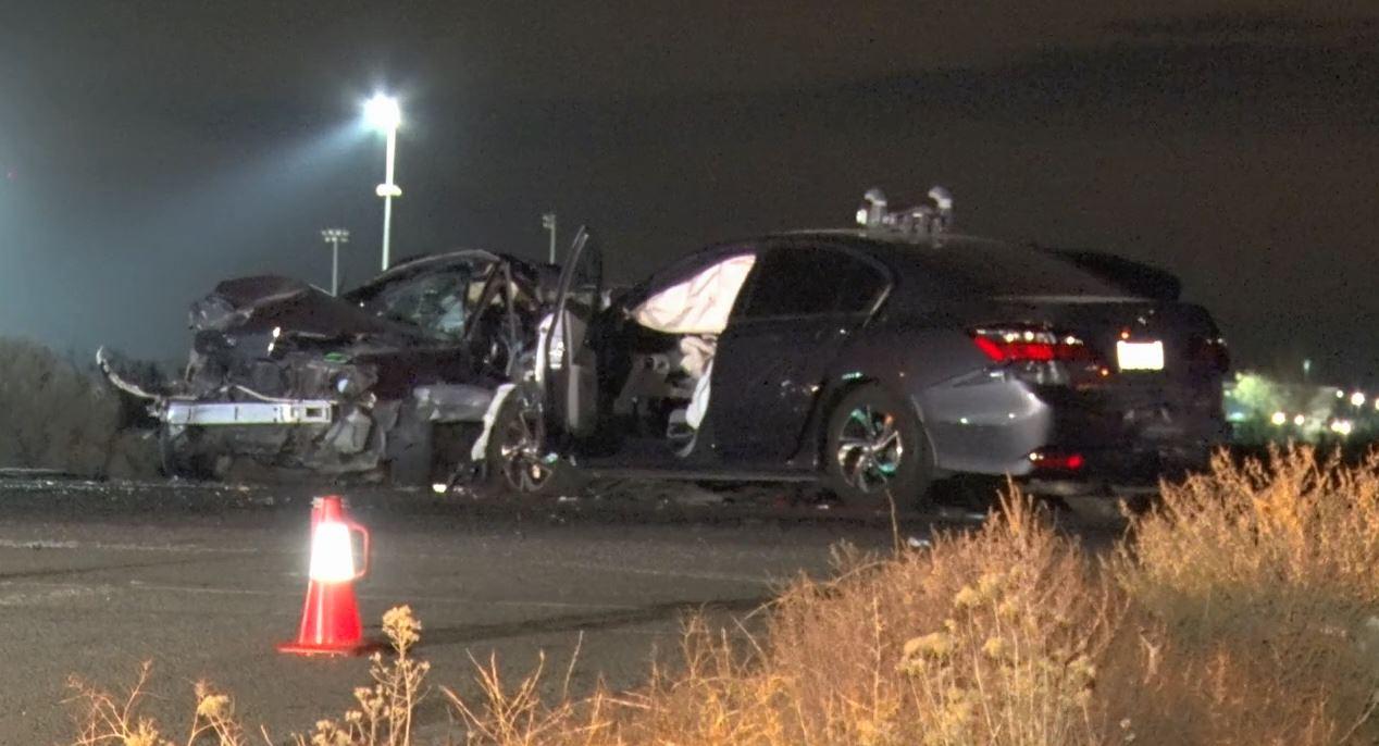 Man killed in crash on Palmdale Road Wednesday night
