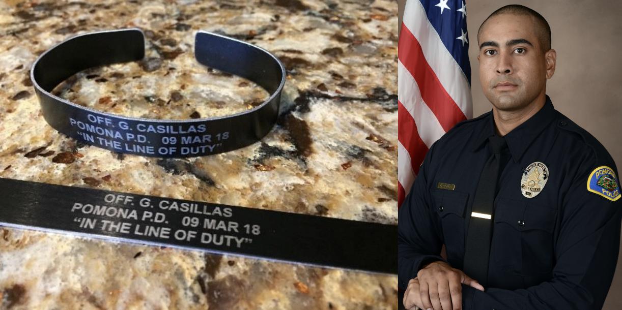 Fallen Officer Greggory Casillas