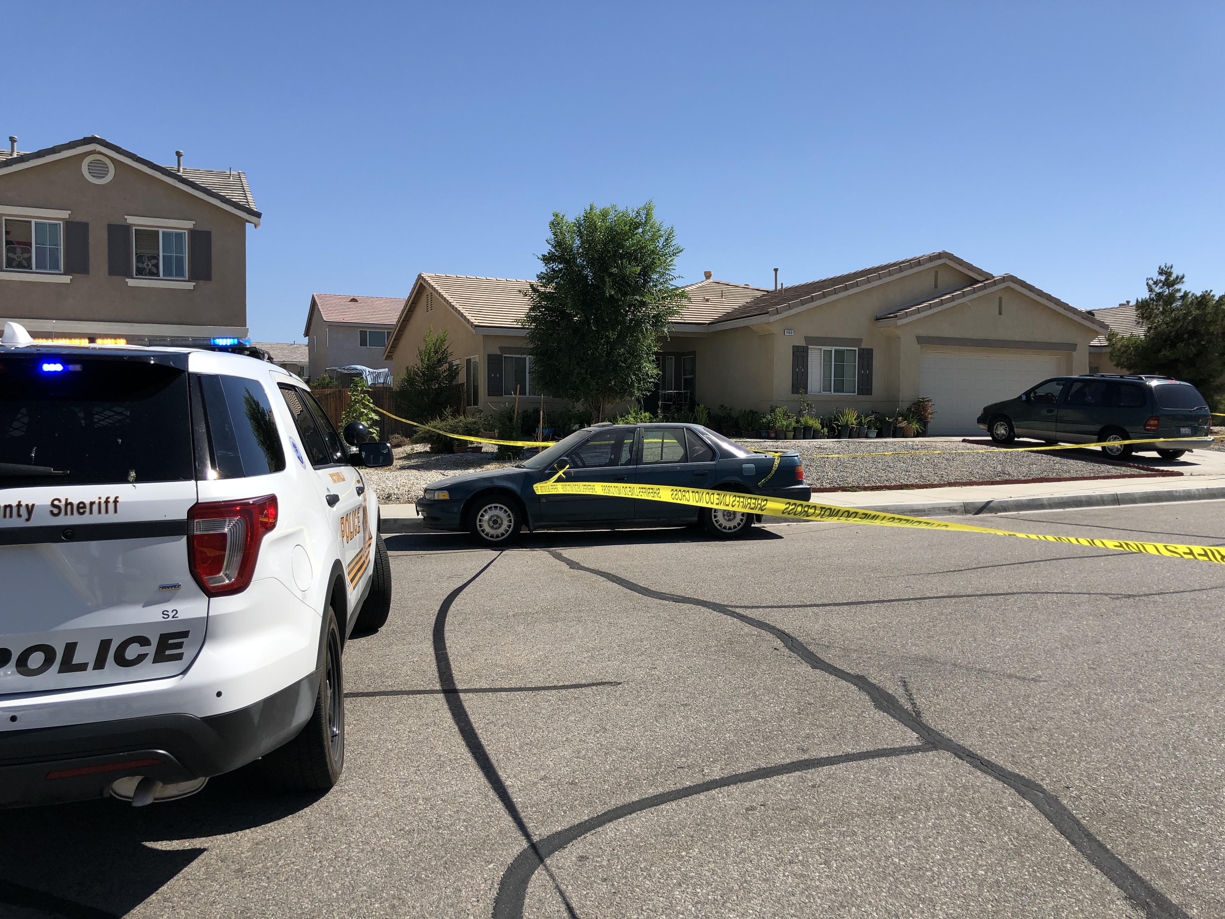 Untitled — Man found dead inside Victorville home sparks