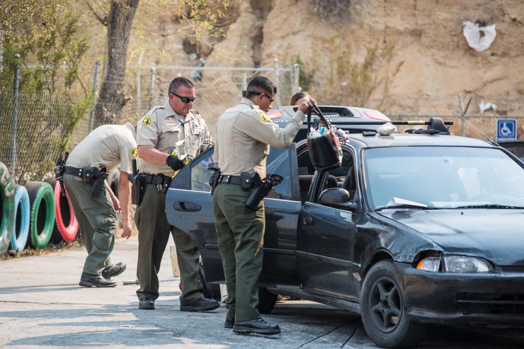 Steven Rugelio, 31-year, was arrested after running from deputies. (Hugo C. Valdez, Victor Valley News)