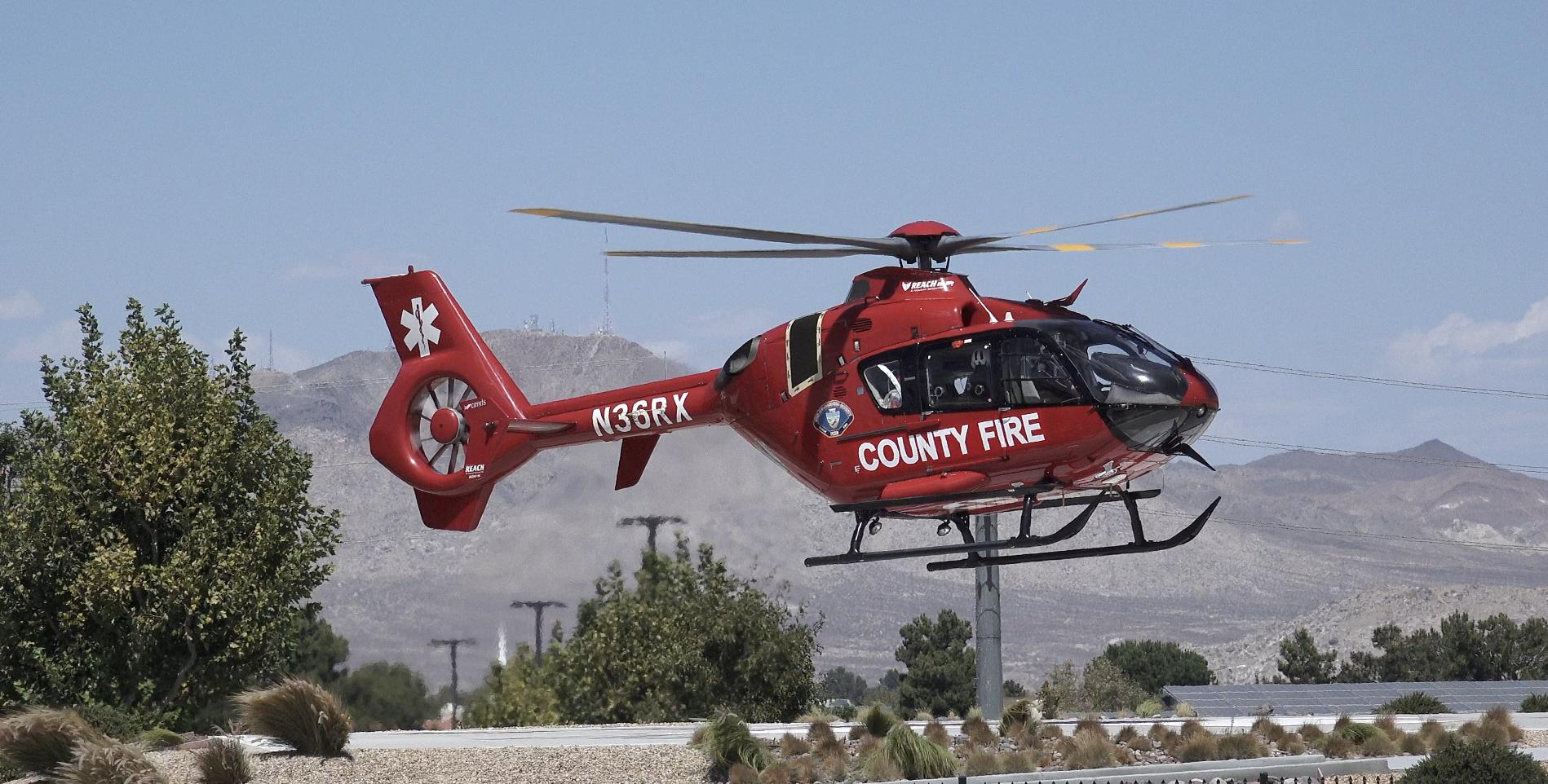 County Helicopter H325 VVNG.com undated file photo (Hugo C. Valdez, Victor Valley News)