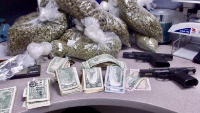 Deputies locate loaded firearms, cocaine, marijuana, cannabis wax, and multiple large capacity ammunition magazines
