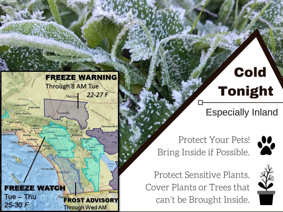 (US National Weather SerVice San Diego // Facebook)