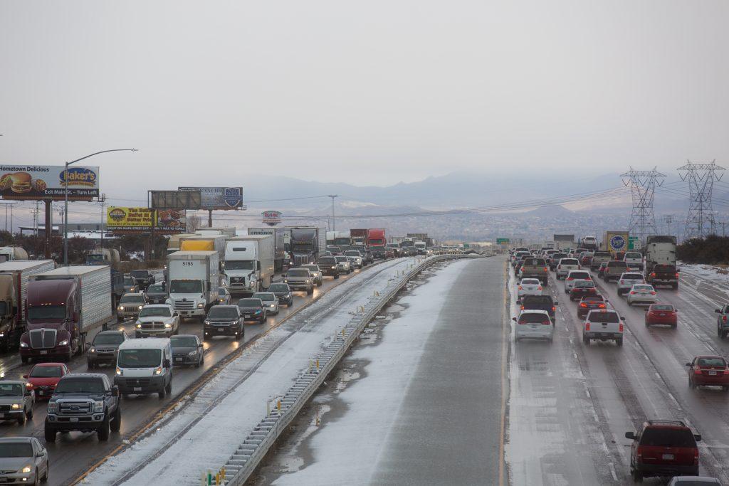 I-15 freeway in Oak Hills. VVNG.com file photo (Gabriel D. Espinoza, Victor Valley News)