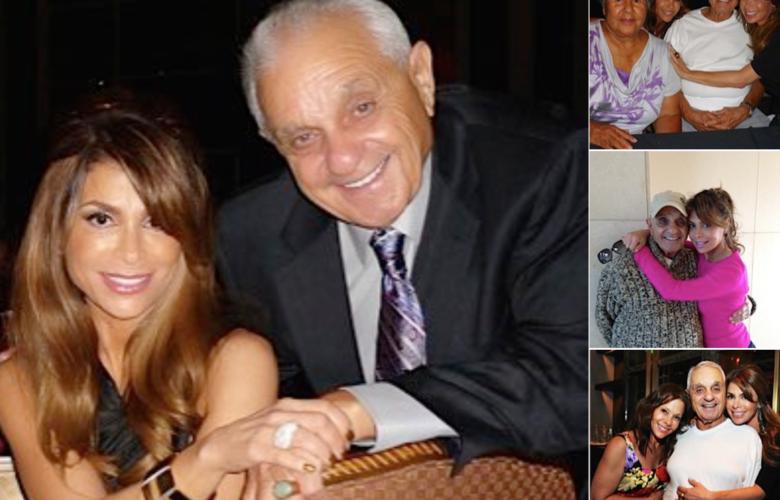 Harry Abdul with daughter Paula Abdul.