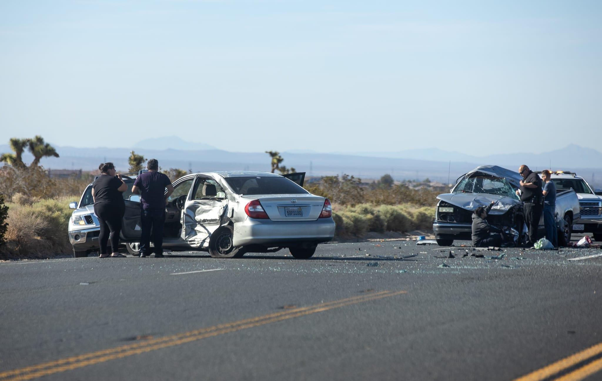 Untitled — VICTORVILLE, CALIF: (VVNG com)- A man trapped