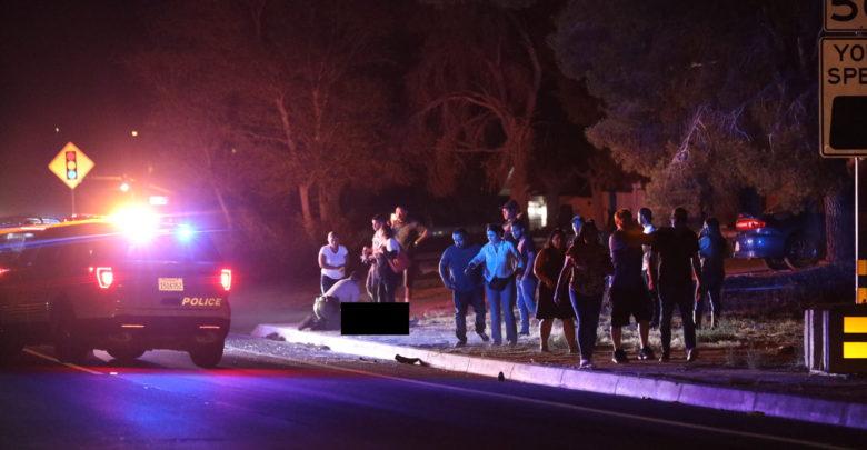 Photo of Female pedestrian struck, killed on Village Drive in Victorville