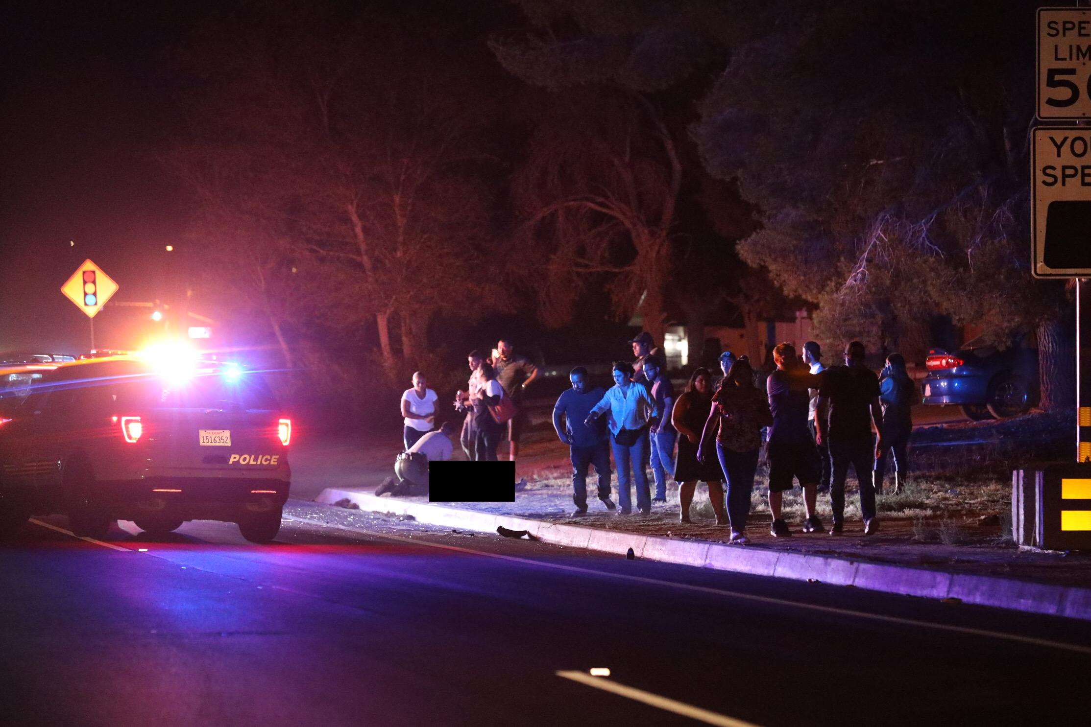 Female pedestrian struck, killed on Village Drive in Victorville
