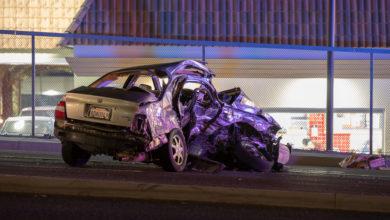 Photo of DUI suspected in fatal Hesperia crash on Main Street; Coroner ID's victim