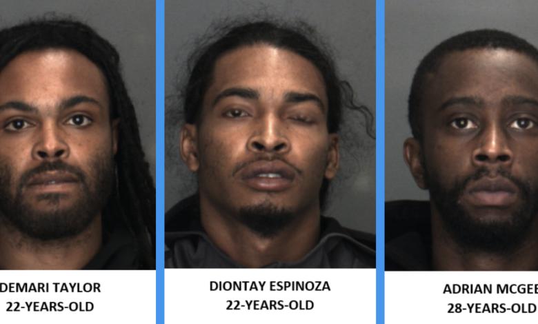Photo of Barstow Police arrest 3 vehicle burglary suspects