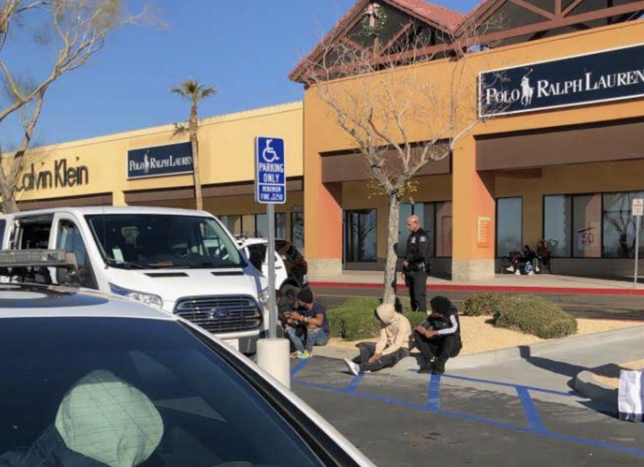 barstow shoplifting teens arrested