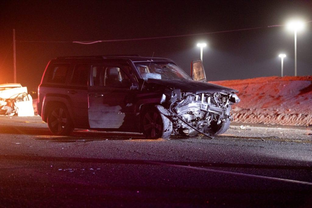head on crash air expressway victorville