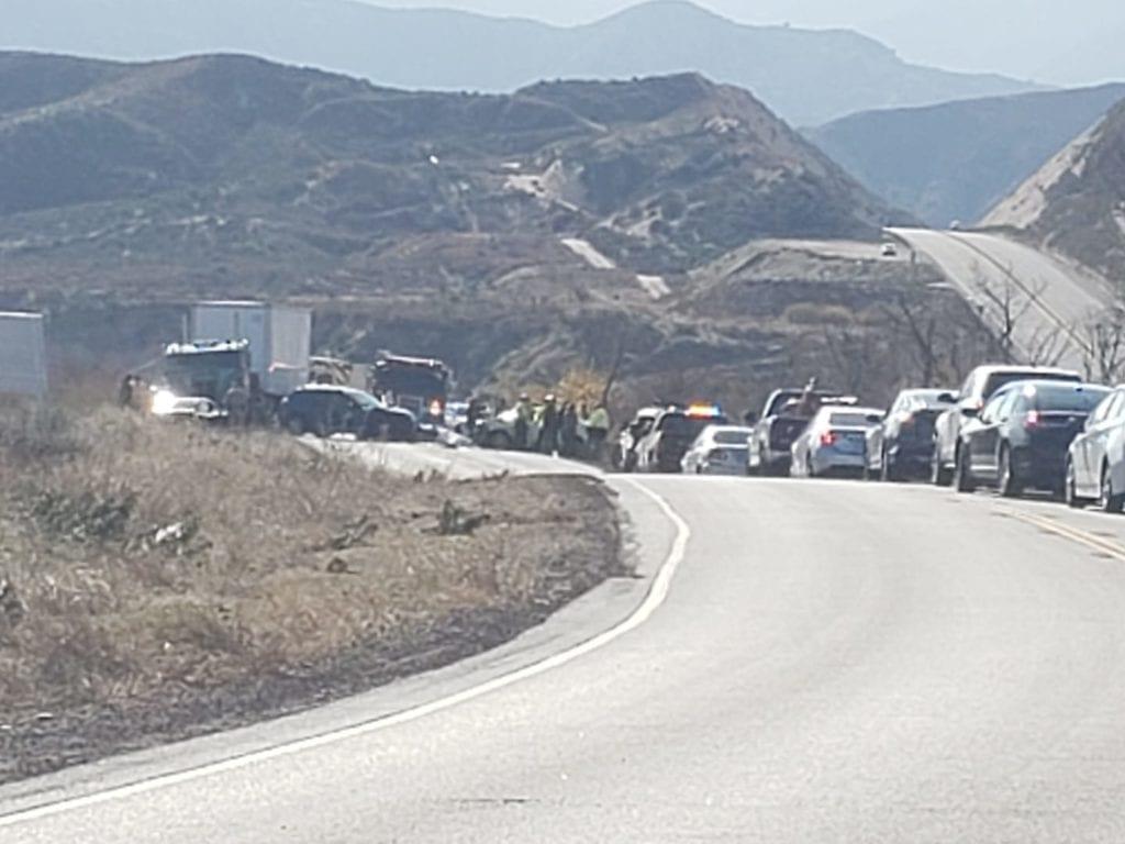 Head on crash on highway 138