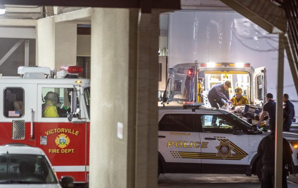 pedestrian killed palmdale road victorville