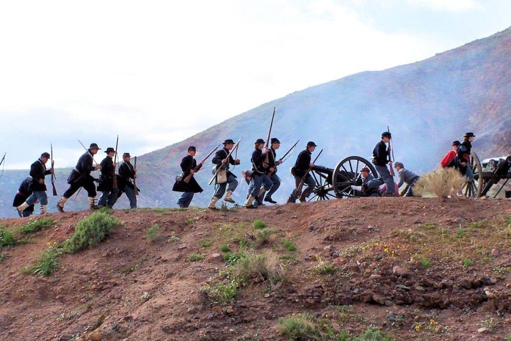 (Calico Ghost Town Civil War Reenactment)