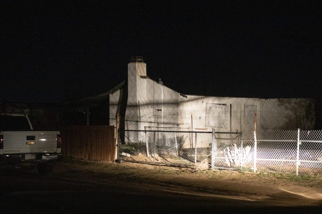 Gerson Sagastume was eventually located hiding in an abandoned residence in Adelanto. (Hugo C. Valdez, VVNG.com)