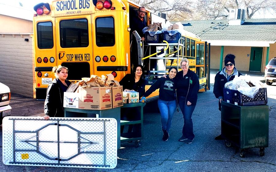 Meal pickup program serving community