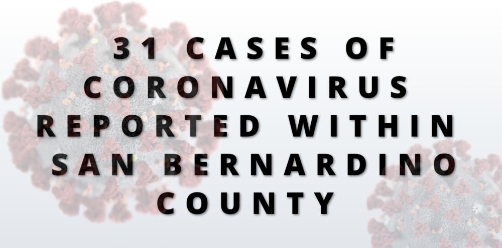 coronavirus 31 cases confirmed
