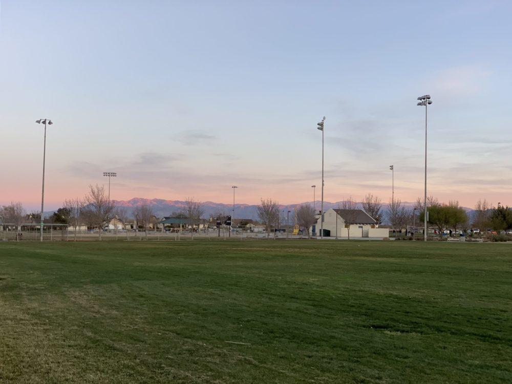 An undated file photo of Sunset Ridge Park in Victorville. (photo by Hugo C. Valdez, VVNG.com)