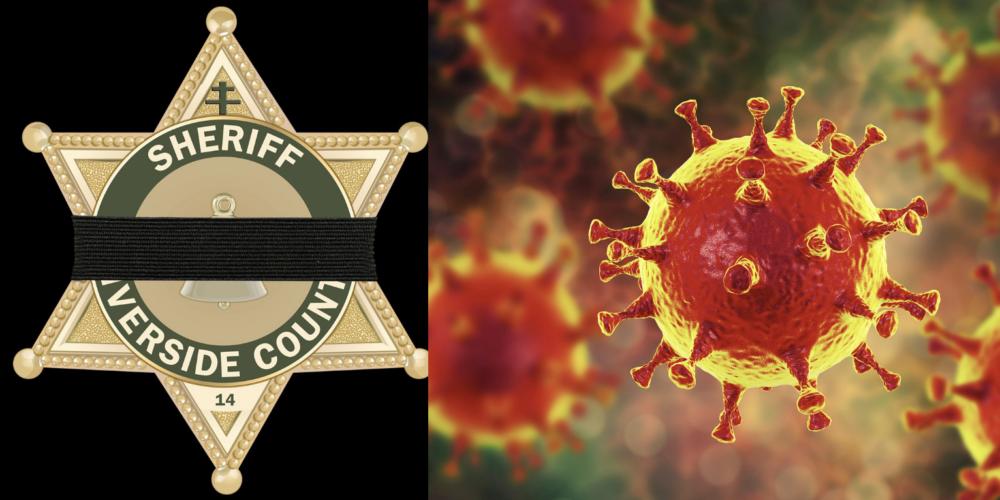 Riverside county sheriff's deputy dies from covid-19