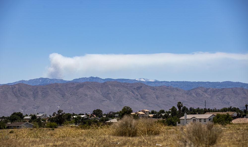 Prescribed burning continuing in Big Bear area of San Bernardino National Forest