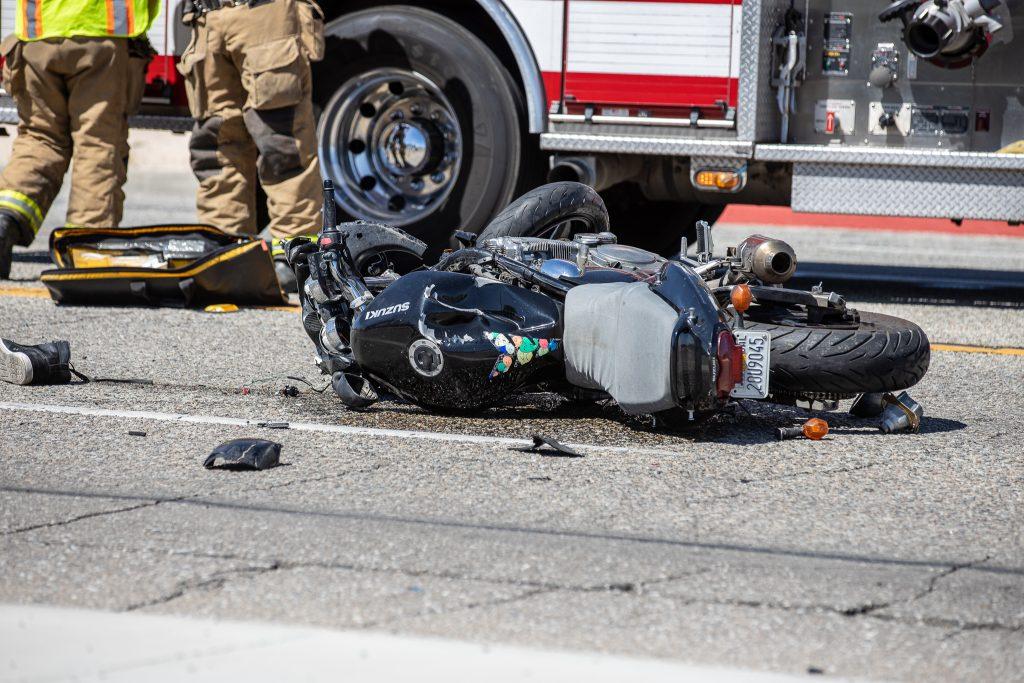 suzuki motorcycle crash victorville