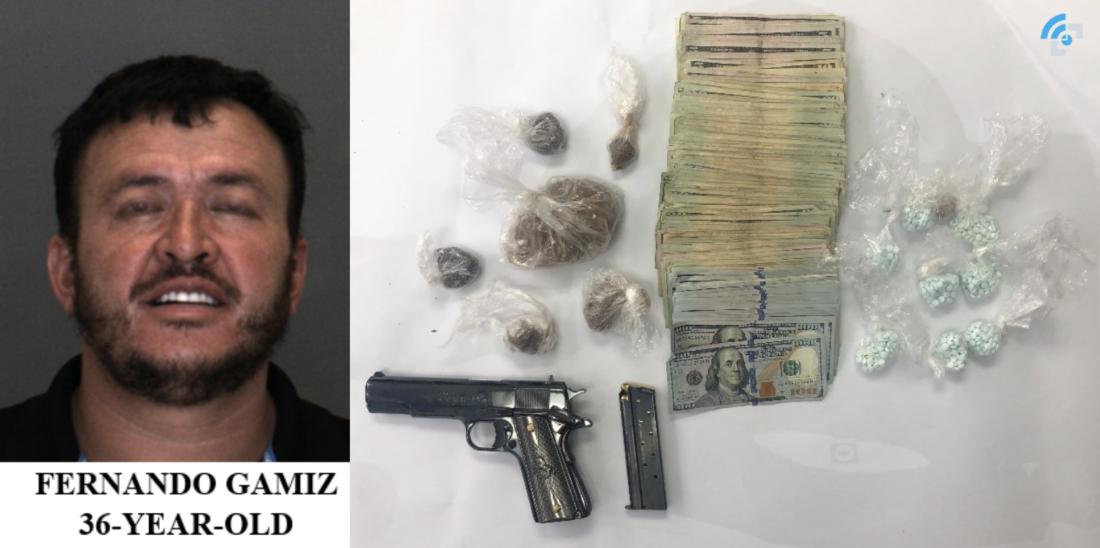 Fernando Gamiz hesperia heroin bust