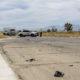 A motorcyclist injured in a Thursday afternoon crash was flown to a trauma center. (Hugo C. Valdez, VVNG.com)