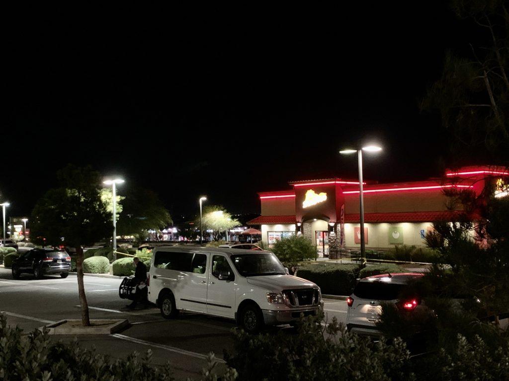 Officials are investigating how long the van was parked for. (Hugo C. Valdez, VVNG.com)