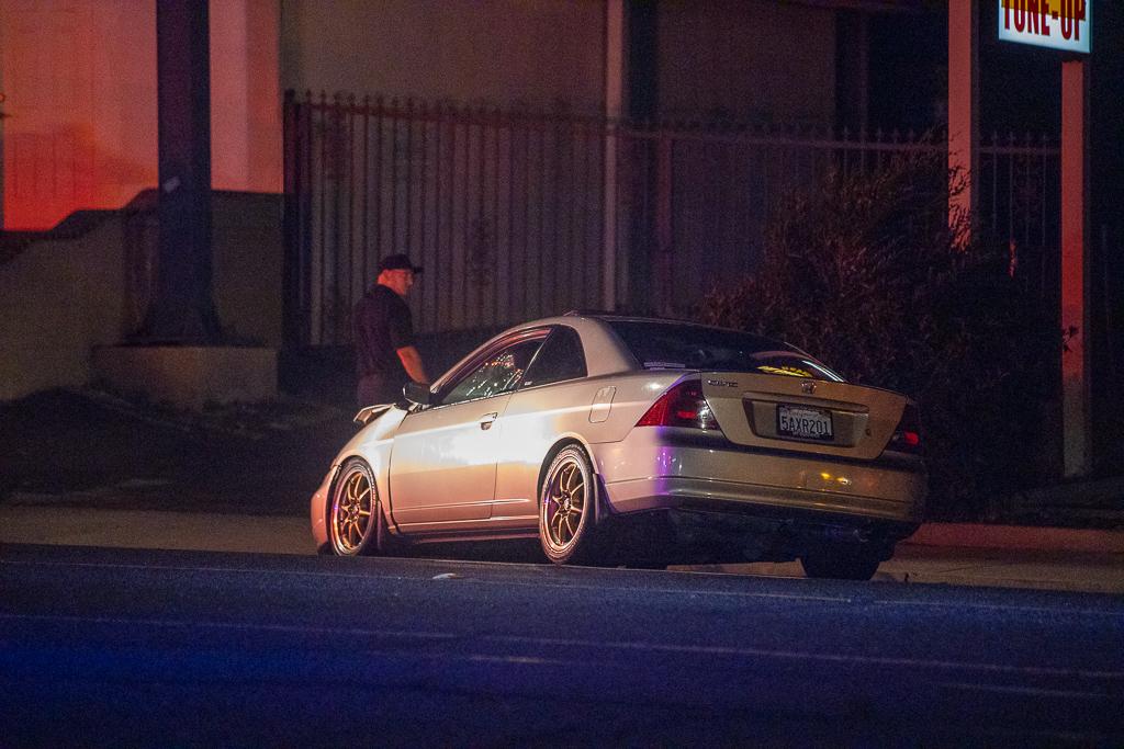 Samuel Santoya was arrested for DUI following a crash. (Gabriel D. Espinoza, VVNG.com)