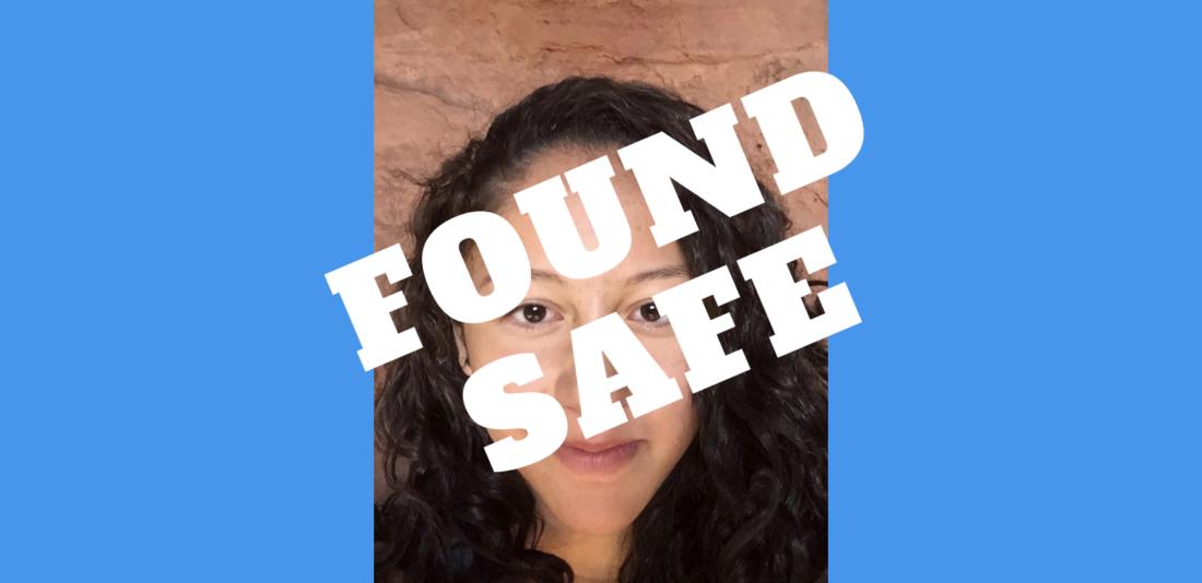 Lexis Meza found safe